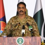 Indian army chief's statement is irresponsible: DG ISPR
