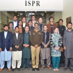 FATA youth delegation visits ISPR, lauds Pak Army efforts for peace