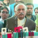Khurshid Shah asks Nawaz not to talk about unconstitutional steps