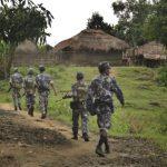 Myanmar military trucks hit landmines in troubled Rakhine; one injured