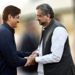 Sindh CM Syed Murad Ali Shah calls on PM Abbasi