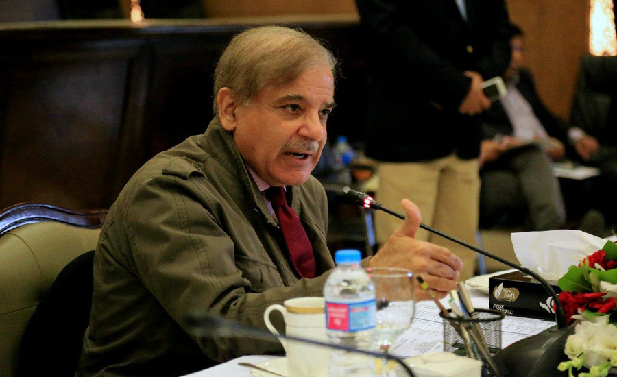 Entire nation on same page to thwart Indian aggression: Shehbaz Sharif