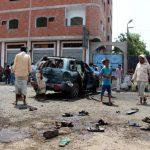 Car bomb kills at least five Yemeni soldiers in Aden