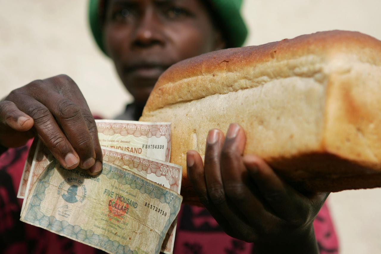 Zimbabwe's economic situation 'very difficult'