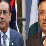 Former presidents Asif Zardari, Pervez Musharraf criticize Nawaz Sharif