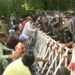 Disabled persons protest for implementation of job quota