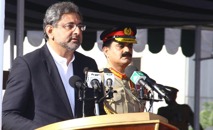 PM Abbasi lauds operational capabilities of Pak Navy