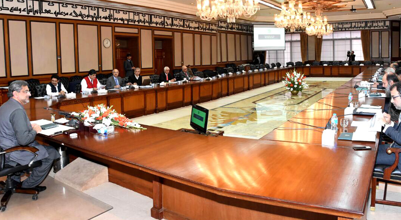 Prime Minister Shahid Abbasi reviews power development projects