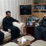 PSP chairman Mustafa Kamal calls on PAT chief Dr Tahirul Qadri