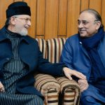 Asif Zardari calls on Dr Tahirul Qadri, assures of his cooperation