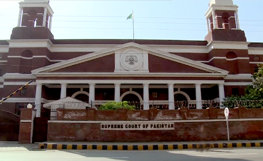 SC orders to remove security barriers outside Hamza Shehbaz's house