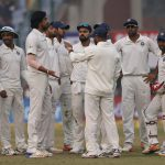 Sri Lanka all out for 373 in third test