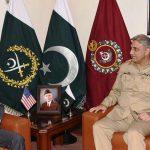 US Ambassador David Hale calls on COAS Gen Qamar Bajwa