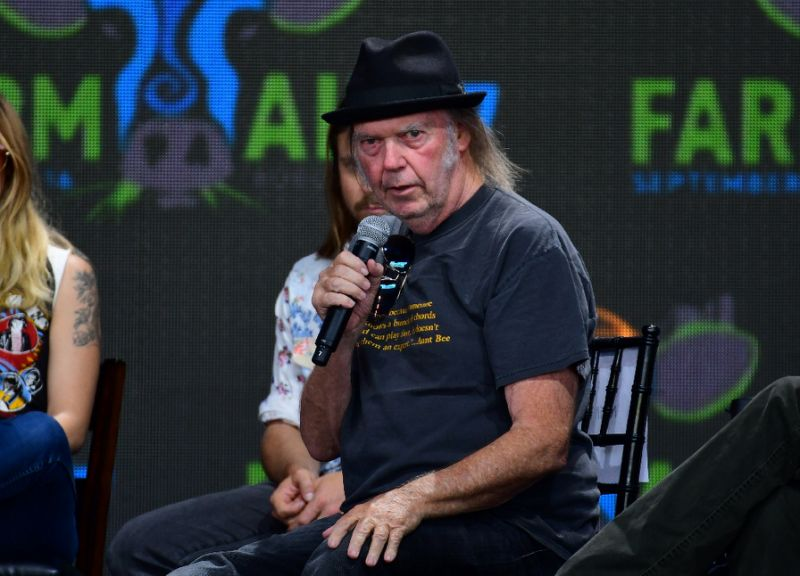 Neil Young releases vast archive and new politically loaded album