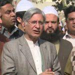 PPP Senator Aitzaz Ahsan says no cabinet in Punjab