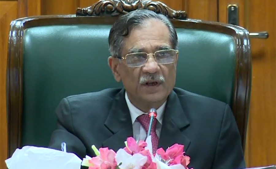 Agenda of non-construction of dams will not be fulfilled: CJP