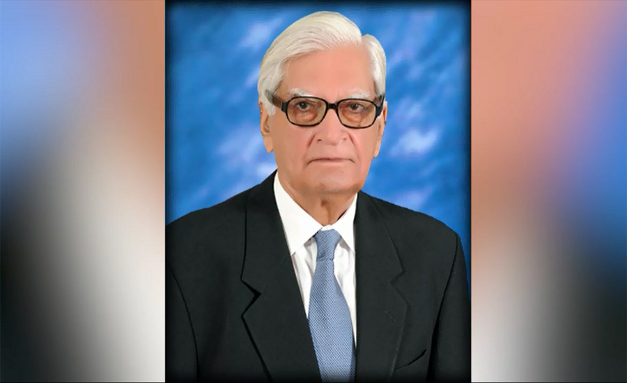 Funeral prayer of Dr Ishfaq Ahmed offered