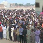 Moving scenes as slain seven-year-old Zainab buried, 3 protesters killed