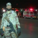 Five FC officials injured in a suicide attack on check-post in Quetta