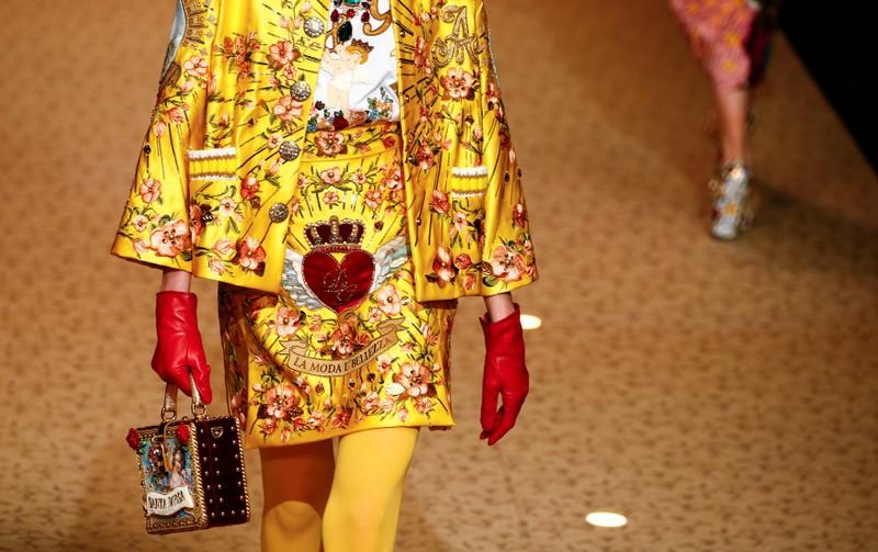 Dolce & Gabbana opens the gates of fashion heaven in Milan show