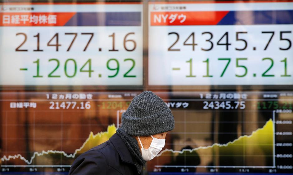 Stocks crumble in vicious sell-off as 'goldilocks' trade unravels