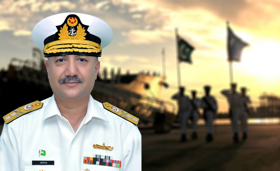 Rear Admiral Imran Ahmad takes charge of Pakistan Navy's logistics command