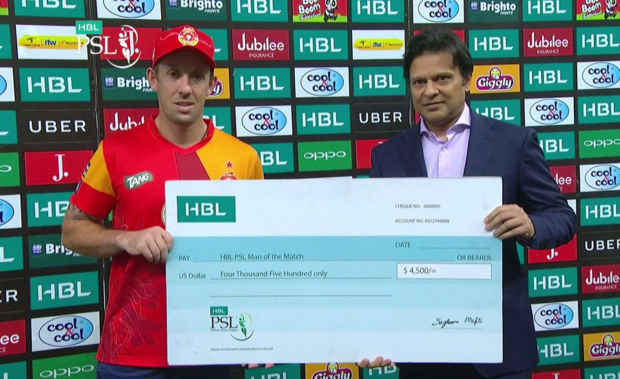 Islamabad United thump Lahore Qalandars by six wickets in PSL