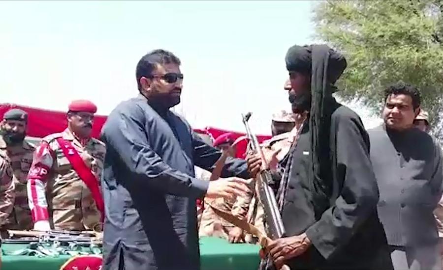 Five terrorists killed, 20 'Ferraris' surrender in Dera Bugti operation