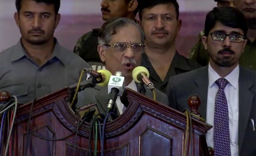 Won't allow any extra-constitutional step, says CJ Saqib Nisar