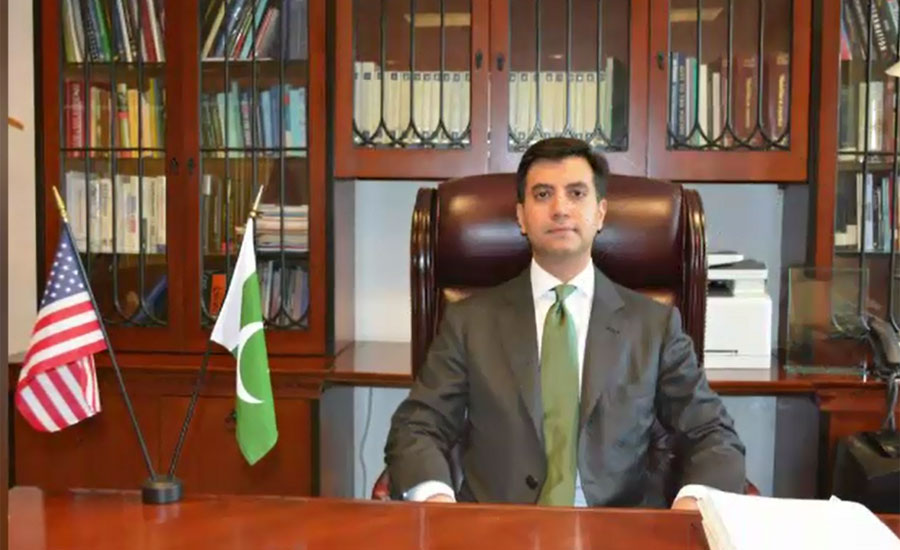 Ali Jahangir takes charge as Pakistan's ambassador to US