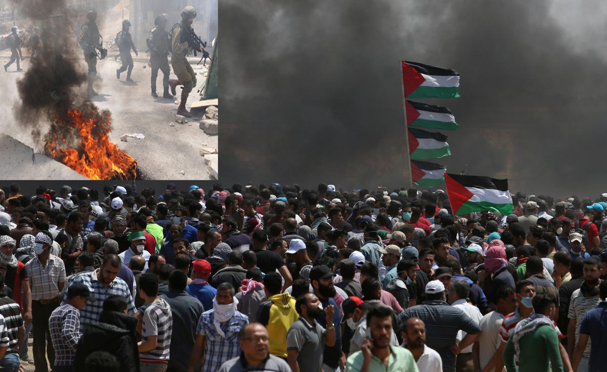 Israeli forces martyr 55 in Gaza protests as anger mounts over US Embassy