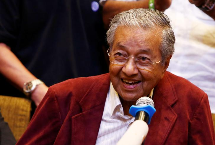 Malaysian PM Mahathir says may be prime minister for 1-2 years