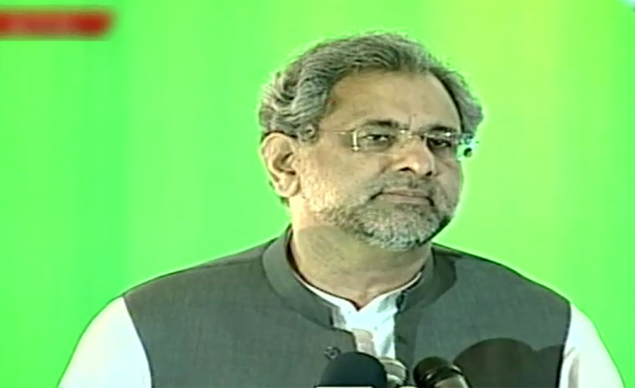 Politics is only decided at polling stations, says PM Shahid Abbasi