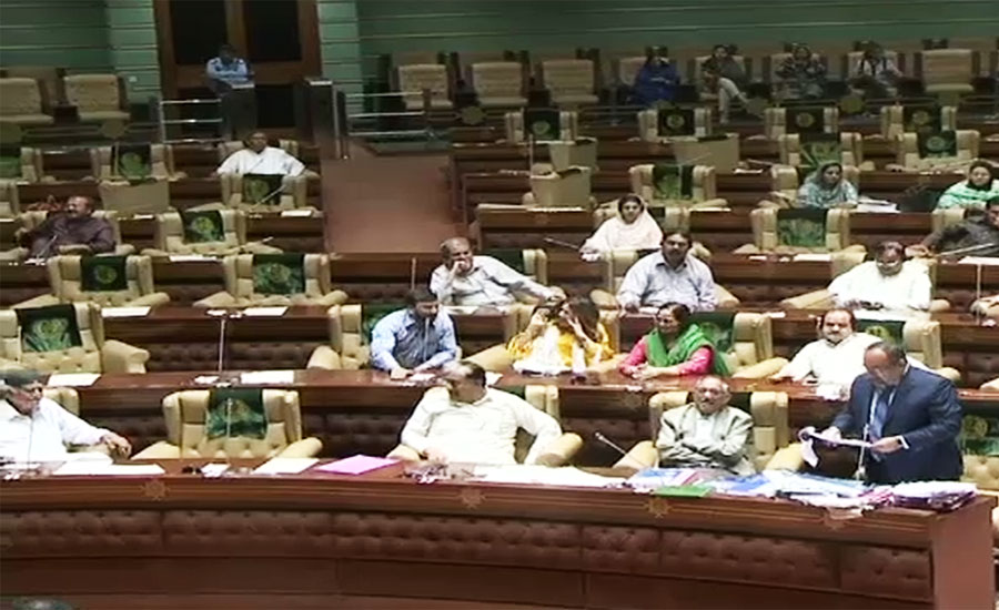 Rumpus in Sindh Assembly as PPP, MQM members exchange hot words