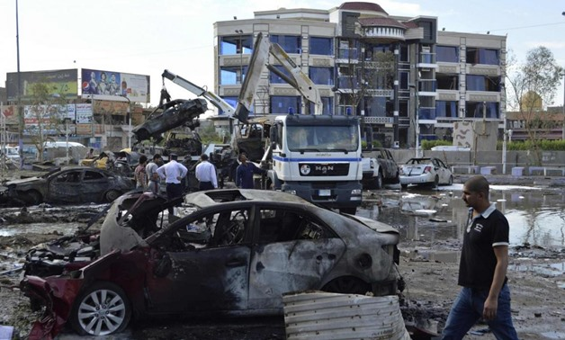 At least four killed, 15 wounded in Baghdad bomb blast