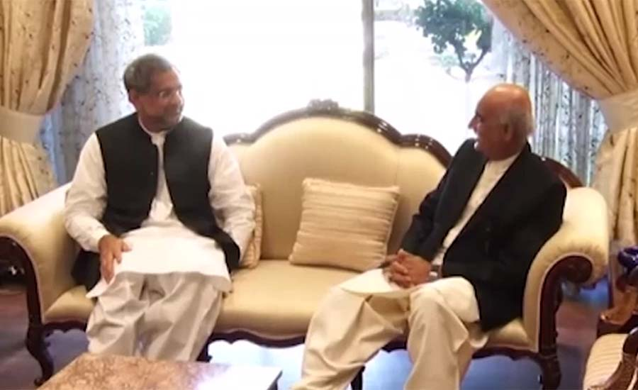 Deadlock for caretaker PM ended after meeting of PM Abbasi, opp leader