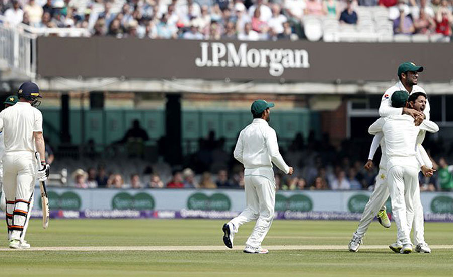 Pakistan crush England by nine wickets at Lord's first Test