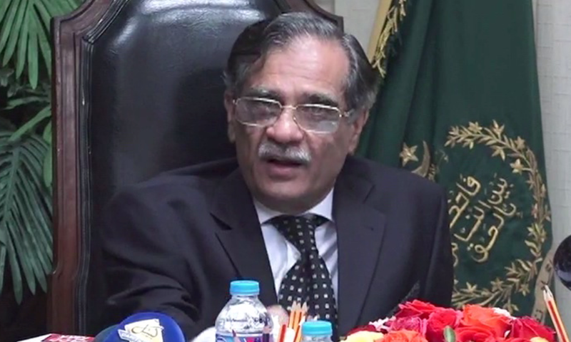 CJP takes serious notice of Shaukat Aziz Siddiqui's allegations