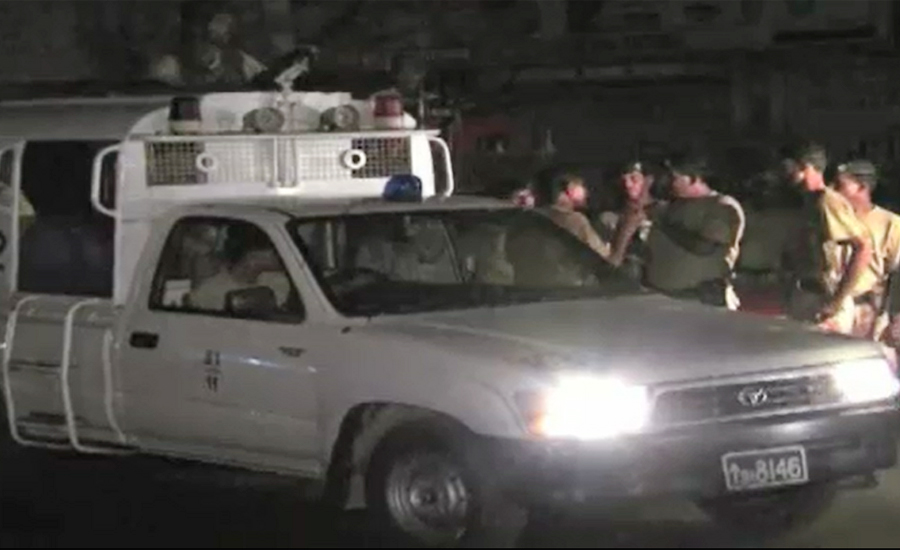 Two Rangers officials injured in foiled suicide attack in Hub