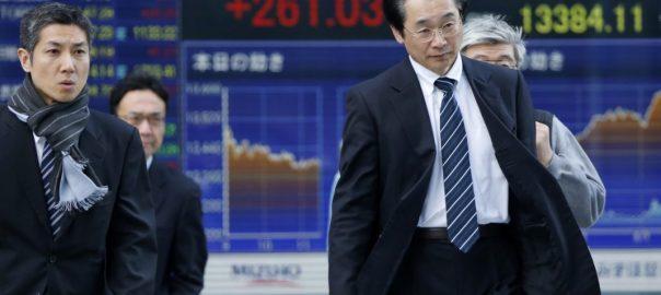 asian stock tariff china us dollar economic slowdown crude oil barrel