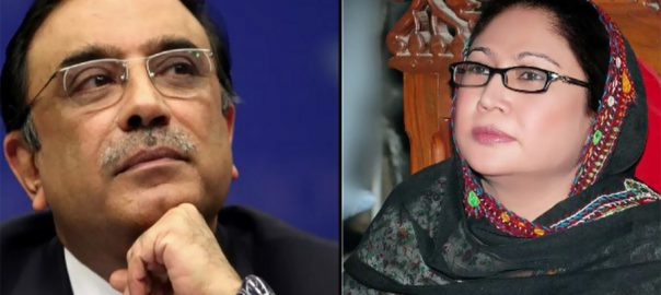 Fake accounts, Asif Zardari, Faryal Talpur, March 15