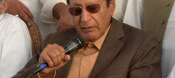 Shujaat Ch SHujaat PMl-Q PML-Q Leader PPP train march economy prevailing political situation