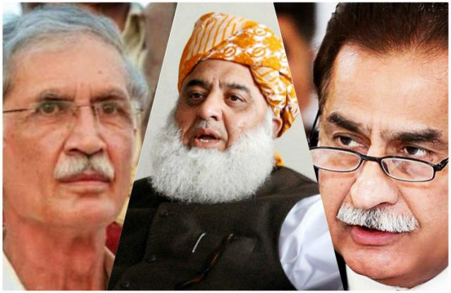 Ayaz, Pervez, Fazl asked to submit reply for using unethical language