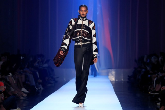 Gaultier lights up fashion week with provocative ode to smoking