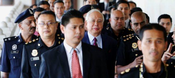 Najib convicted Malysian PM former pM charges 1MDB