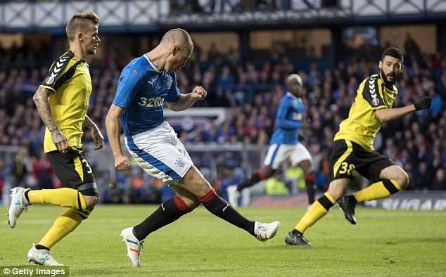 Once halted by Progres, Rangers advance in Europa League