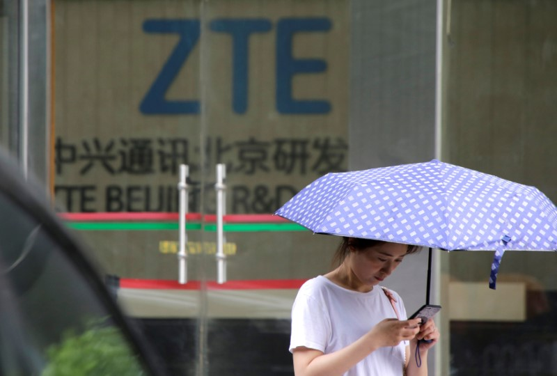 US allows ZTE transactions to maintain networks