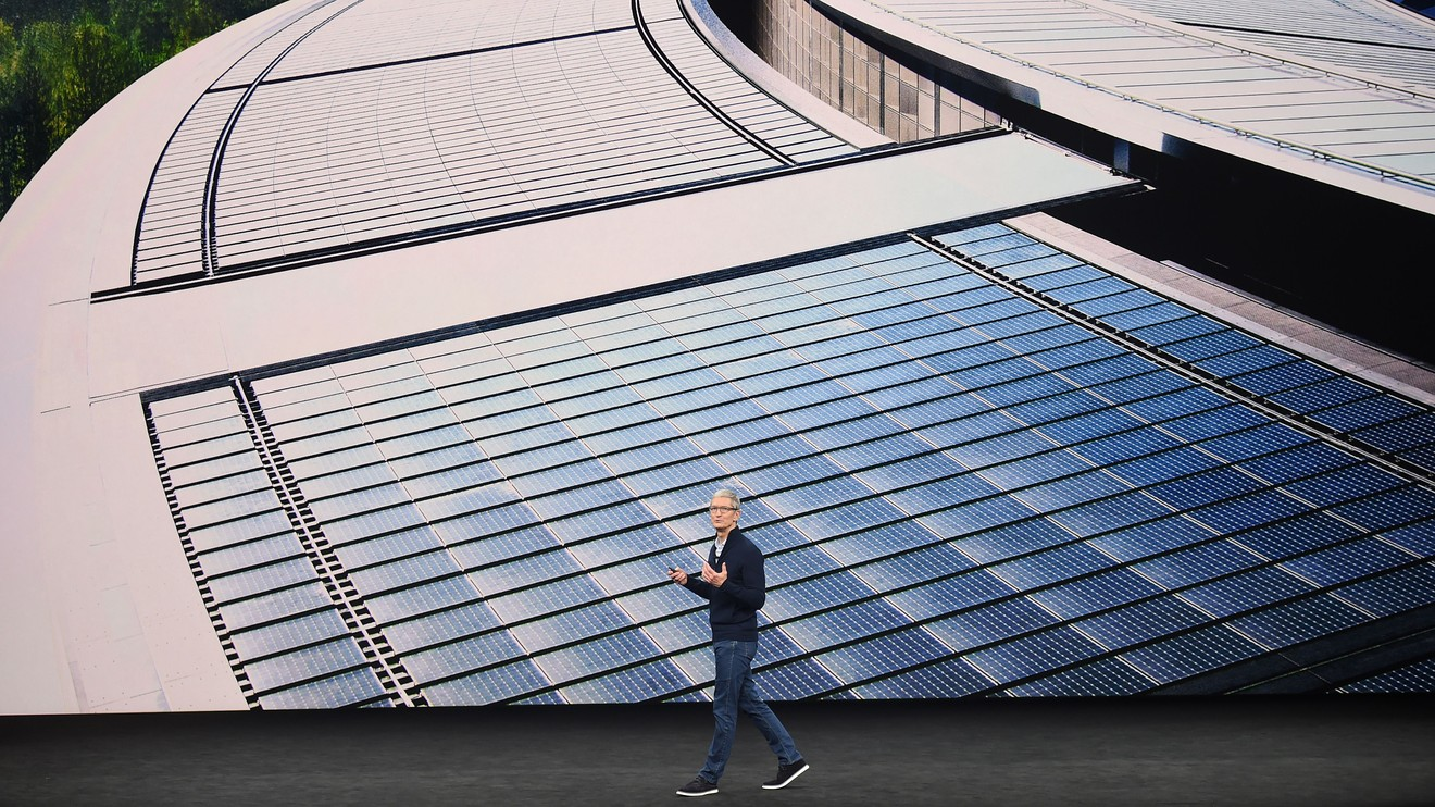 Apple launches $300 million green energy fund in China