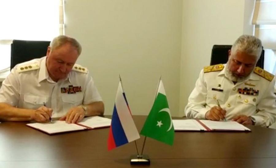 Vice Chief of Naval Staff Kaleem Shaukat calls on Russian Navy chief