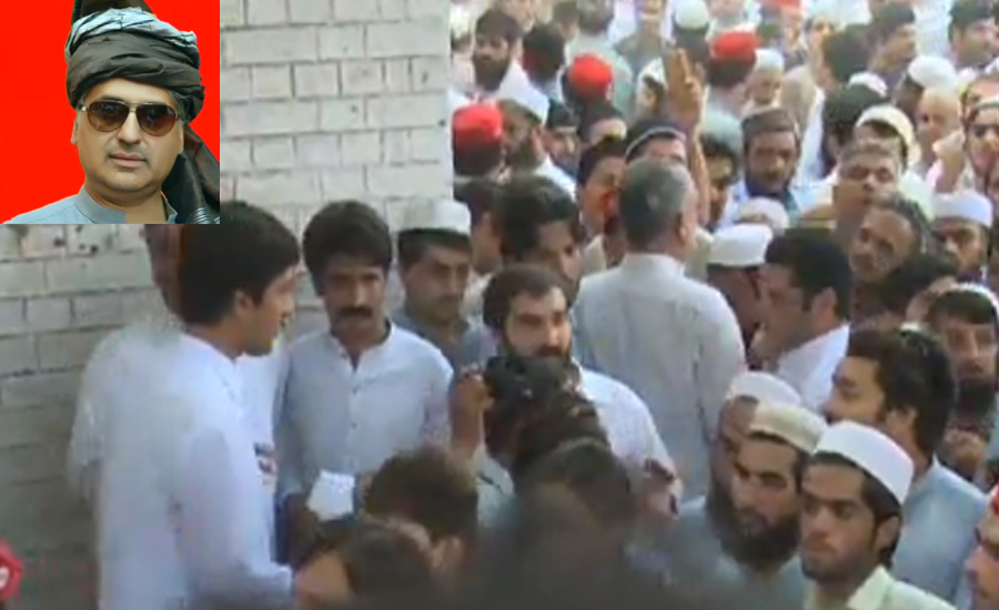 Martyred ANP leader Haroon Bilour laid to rest in Peshawar